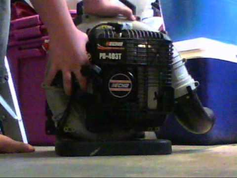 How to start a Echo Backpack Blower- Model PB-403T