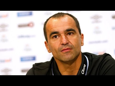 Roberto Martinez's pre-Tottenham press conference