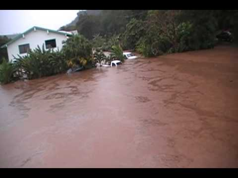 Flooding in Waimea Kauai