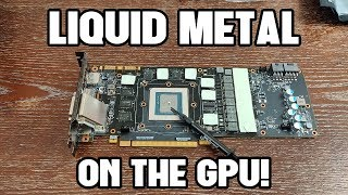 Liquid Metal on GPU