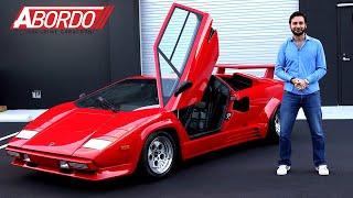 Lamborghini Countach | Prueba A Bordo Completa