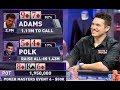 Did Doug Polk FUMBLE Away The Poker Masters?!?!?!?