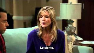 Two and a half men: Alan sincero con Lyndsey. (Sub en español)