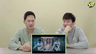 Korean React To Minzy공민지 - Ninano 니나노 Feat. Flowsik  Korean Bros