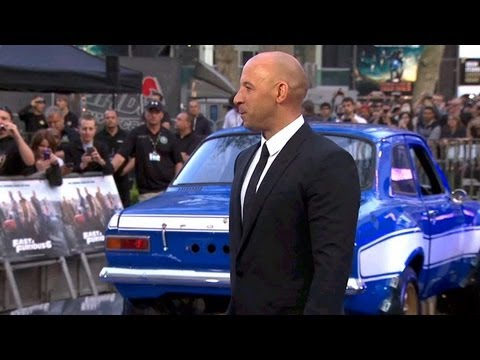 L'avant Première De Fast And Furious 6 (londres) video