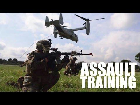 Marines Execute Assault Training