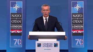 Live Now | Stoltenberg holds a news conference after NATO summit | #NATOSummit2019
