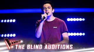 The Blinds: Zach Fawor sings 'Mercy'  | The Voice Australia Season 8