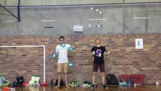 Diabolo X Juggling Ft.