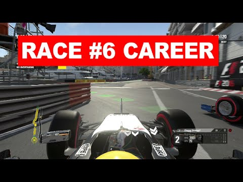 F1 2016 GAME: RACE #6 WAARDELOOS GEFAAL IN MONACO EN BOTSEN MET HARYANTO! (DUTCH)