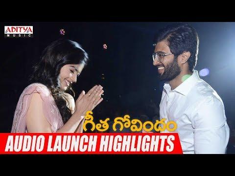 Download Lagu  Geetha Govindam Audio Launch Highlights   Vijay Devarakonda, Rashmika Mandanna   Gopi Sundar Mp3 Free