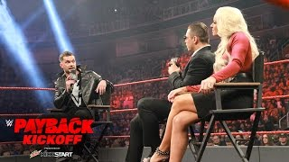 """""""Miz TV"""" with special guest Finn Bálor: WWE Payback 2017 Kickoff"""