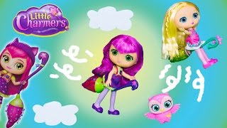 LITTLE CHARMERS Nickelodeon Little Charmers Learn to Fly Little Charmers Video Toy Unboxing