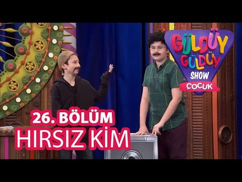 Güldüy Güldüy Show Çocuk 26. Bölüm , Hırsız Kim