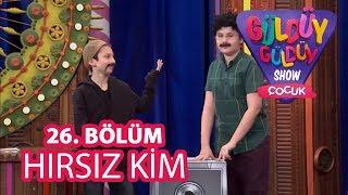 Güldüy Güldüy Show Çocuk 26. Bölüm | Hırsız Kim