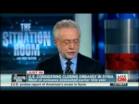 SitRoom-US considering closing embassy in Syria-01-20-2012 seg1