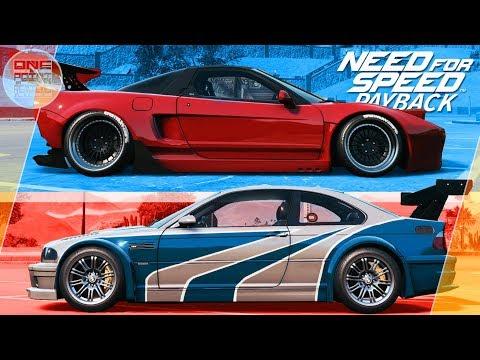 Need For Speed: Payback (2017) - BMW M3 ИЗ NFS MW VS HONDA NSX!