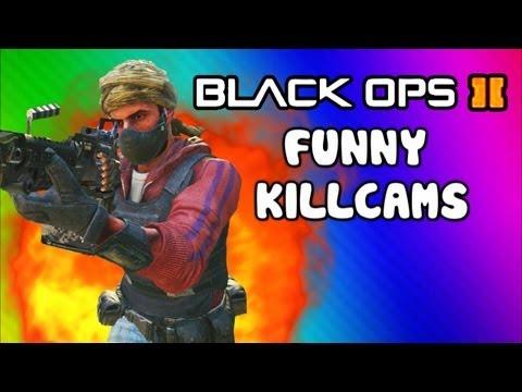 Black Ops 2 Funny Killcams - Dive Shot, LMG Quick Scopes, 360 Wall Bang (Trolling / Funtage)