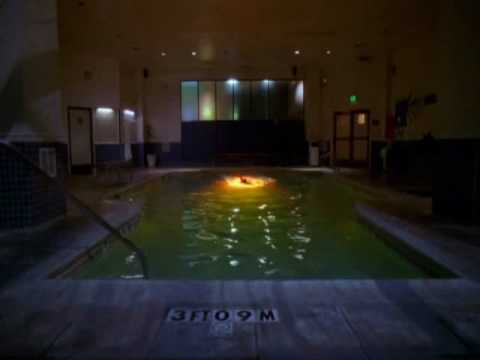 Cote de Pablo On NCIS Swimming