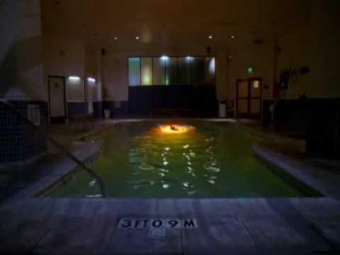 Cote de Pablo On NCIS Swimming Video