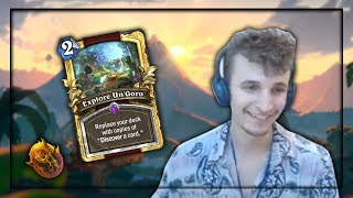 Explore Un'Goro OP?! (Hearthstone Stream Highlight)