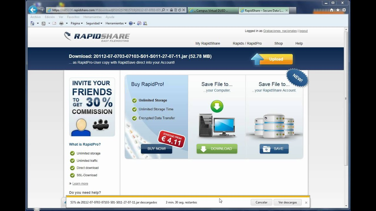 Rapidshare auto download, is a free download manager for the rapidshare website