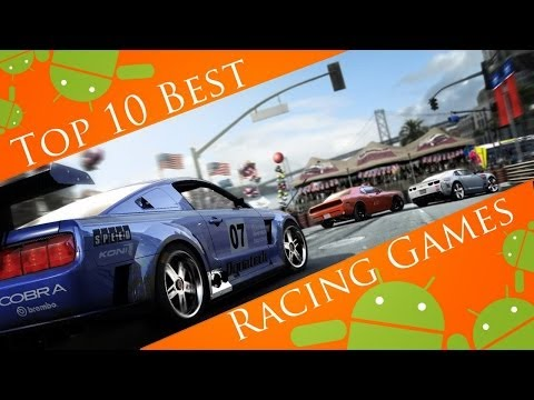 Top 10 Best Android Racing Games 2013 (HD)