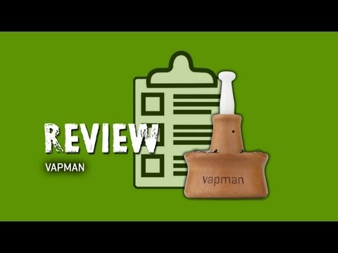 Vapman Vaporizer - Review - TorontoV TV (HD)