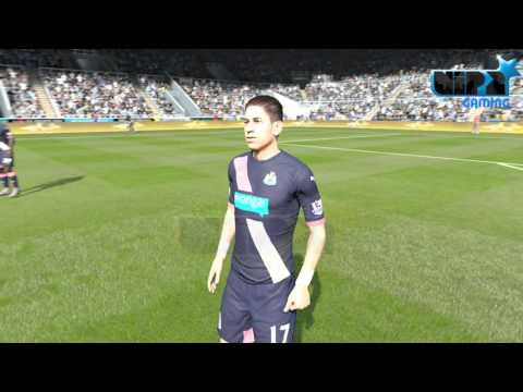 FIFA 16   Newcastle Player faces