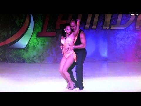 WLDCup 2015 ~ Final Bachata ~ Natalia Villanueva & Deklan Guzmán