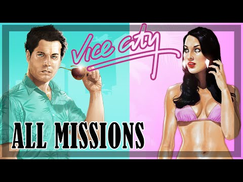 GTA Vice City - All Missions Walkthrough HD