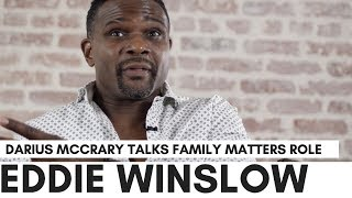 Darius McCrary Thinks 'Eddie Winslow' Came From The Cosby Show