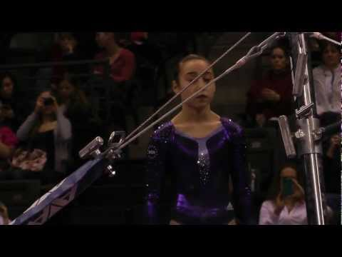 Katelyn Ohashi - Uneven Bars Finals - 2012 Kellogg&#039;s Pacific Rim Championships - 1st