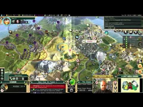Civilization 5 Multiplayer 144: Japan [4/6] ( BNW 6 Player Free For All) Gameplay/Commentary