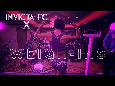Invicta FC 10 Weigh-Ins