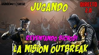 🔴 JUGANDO AL MODO OUTBREAK RAINBOW SIX SIEGE EN DIRECTO | OPERATION CHIMERA | MISION OUTBREAK |