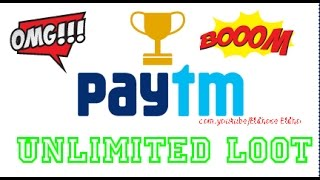 [Updated]PayTM loot💰|Unlimited Trick|No root|October 2016|Easy Trick|100% Working|
