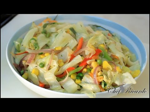 Jamaica Stir Fry Cabbage Jamaica Recipes Caribbean Style