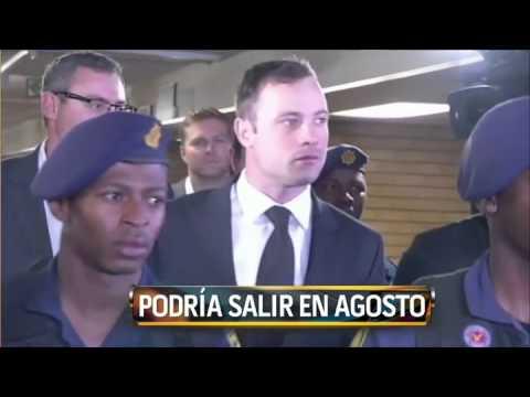 Oscar Pistorius obtendría la libertad condicional en agosto