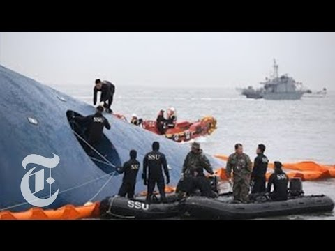 South Korea Ferry Sinks: Update on Ship Disaster | The New York Times klip izle