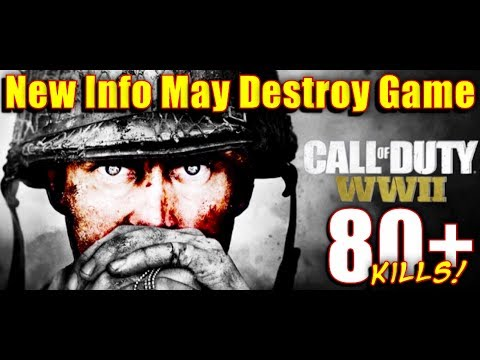 NEW CALL OF DUTY WW2 MULTIPLAYER NEWS May Make The Game Unplayable!