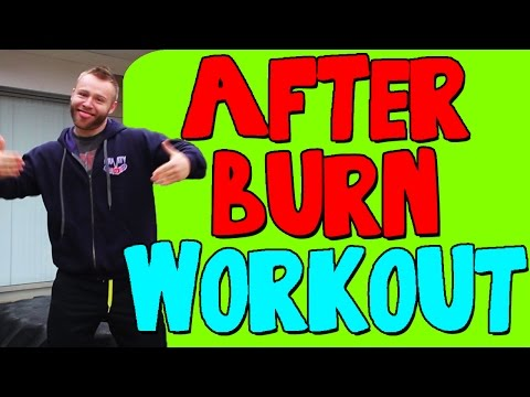 Afterburn Effect Workout   Afterburn Workout   FUNNY & INTENSE WORKOUT!!!