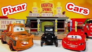 Disney Pixar Cars Character Encyclopedia with LIZZIE, Mater, Red, Stanley and Lightning McQueen