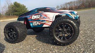RC BASH LST XXL2 ELECTRIC MONSTER TRUCK (MAXAMPS 6S)