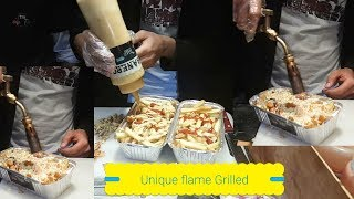The Trapper Amazing Flame Grilled Cheese Fries Street Food of Karachi Pakistan