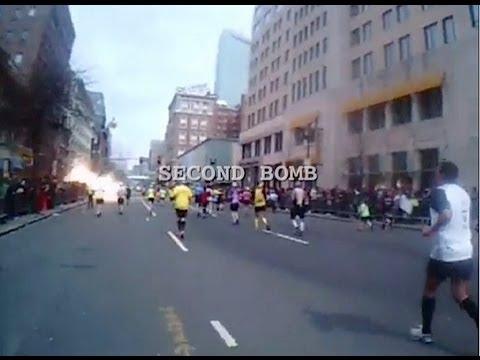 SECOND BOMB MARATHON BOSTON