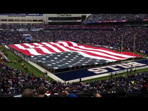 100 yard long USA flag rips