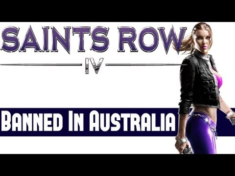 Saints Row 4 News - Banned In Australia in Current State Volition To Change For Australian Release