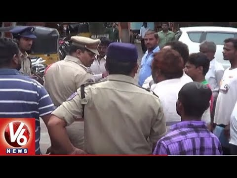 City Police Conducts Cordon Search Operation In LB Nagar | Seizes 28 Vehicles | V6 News