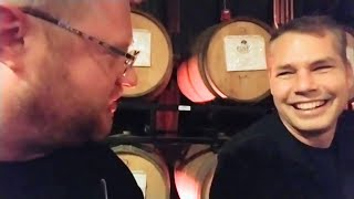 Shepard Fairey Interview 🔴 Burger Planet LIVE Daily Vlog